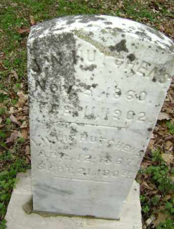 HUTCHENS, J. W. - Washington County, Arkansas   J. W. HUTCHENS - Arkansas Gravestone Photos