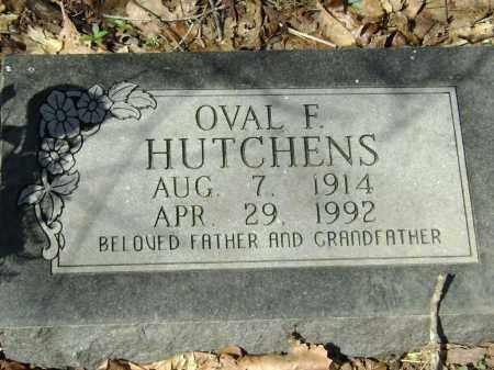 HUTCHENS, OVAL F. - Washington County, Arkansas | OVAL F. HUTCHENS - Arkansas Gravestone Photos