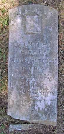 HUTCHENS, WINNEY - Washington County, Arkansas | WINNEY HUTCHENS - Arkansas Gravestone Photos