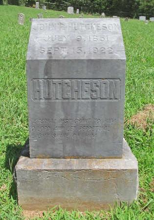 HUTCHESON, JOHN P - Washington County, Arkansas | JOHN P HUTCHESON - Arkansas Gravestone Photos