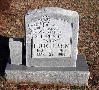 "HUTCHESON, LEROY O. ""ARKY"" - Washington County, Arkansas | LEROY O. ""ARKY"" HUTCHESON - Arkansas Gravestone Photos"