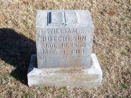 HUTCHESON, WILLIAM S. - Washington County, Arkansas   WILLIAM S. HUTCHESON - Arkansas Gravestone Photos