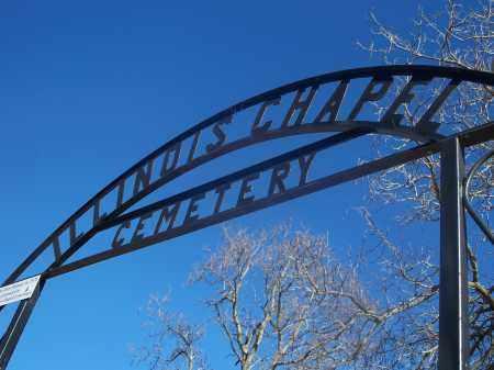 *ILLINOIS CHAPEL CEMETERY, ENTRANCE GATE - Washington County, Arkansas | ENTRANCE GATE *ILLINOIS CHAPEL CEMETERY - Arkansas Gravestone Photos