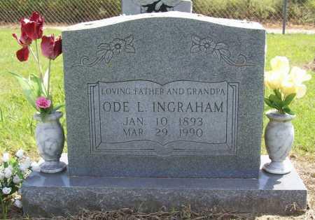 INGRAHAM, ODE LEROY - Washington County, Arkansas | ODE LEROY INGRAHAM - Arkansas Gravestone Photos