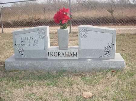 INGMIRE INGRAHAM, PHYLLIS G. - Washington County, Arkansas | PHYLLIS G. INGMIRE INGRAHAM - Arkansas Gravestone Photos