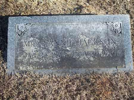 JACKSON, FANNIE - Washington County, Arkansas | FANNIE JACKSON - Arkansas Gravestone Photos