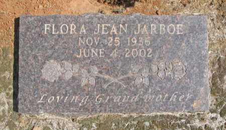 "JARBOE, FLORA ""JEAN"" - Washington County, Arkansas   FLORA ""JEAN"" JARBOE - Arkansas Gravestone Photos"