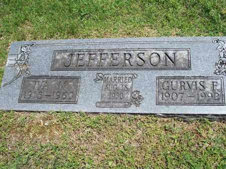 JEFFERSON, IVA MARIE - Washington County, Arkansas | IVA MARIE JEFFERSON - Arkansas Gravestone Photos