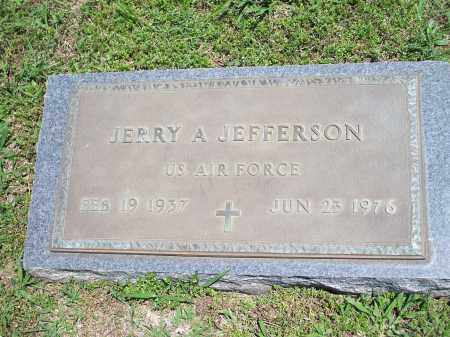 JEFFERSON (VETERAN), JERRY ALEN - Washington County, Arkansas | JERRY ALEN JEFFERSON (VETERAN) - Arkansas Gravestone Photos
