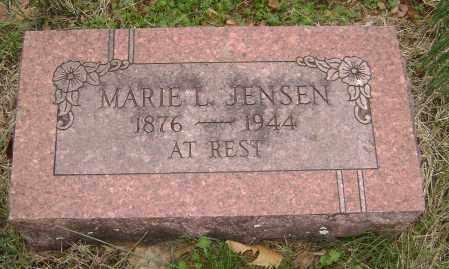 JENSEN, MARIE L. - Washington County, Arkansas | MARIE L. JENSEN - Arkansas Gravestone Photos