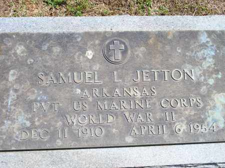 JETTON (VETERAN WWII), SAMUEL LEE - Washington County, Arkansas | SAMUEL LEE JETTON (VETERAN WWII) - Arkansas Gravestone Photos