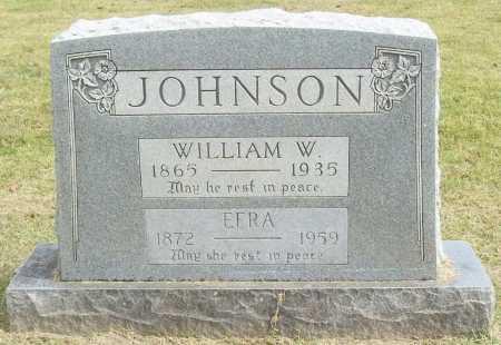 JOHNSON, EFRA - Washington County, Arkansas | EFRA JOHNSON - Arkansas Gravestone Photos