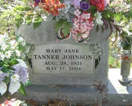 JOHNSON, MARY JANE - Washington County, Arkansas | MARY JANE JOHNSON - Arkansas Gravestone Photos