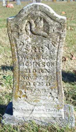 JOHNSON, PERRY A. - Washington County, Arkansas   PERRY A. JOHNSON - Arkansas Gravestone Photos