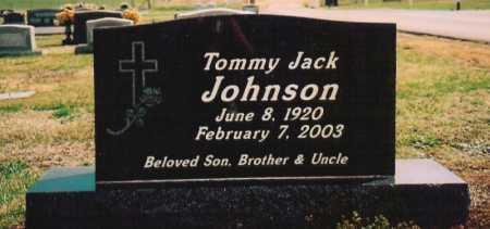 JOHNSON, TOMMY JACK - Washington County, Arkansas   TOMMY JACK JOHNSON - Arkansas Gravestone Photos