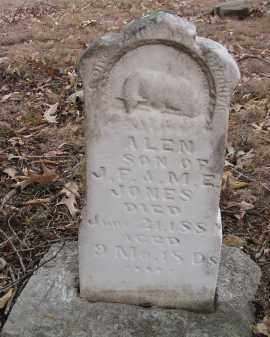 JONES, ALEN - Washington County, Arkansas | ALEN JONES - Arkansas Gravestone Photos