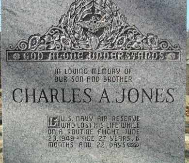 JONES (VETERAN), CHARLES A - Washington County, Arkansas | CHARLES A JONES (VETERAN) - Arkansas Gravestone Photos