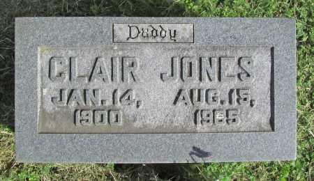JONES, CLAIR - Washington County, Arkansas | CLAIR JONES - Arkansas Gravestone Photos