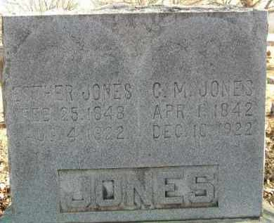 JONES, ESTHER - Washington County, Arkansas | ESTHER JONES - Arkansas Gravestone Photos