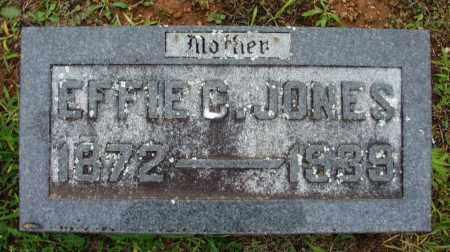 FUZZELL JONES, EFFIE C - Washington County, Arkansas   EFFIE C FUZZELL JONES - Arkansas Gravestone Photos