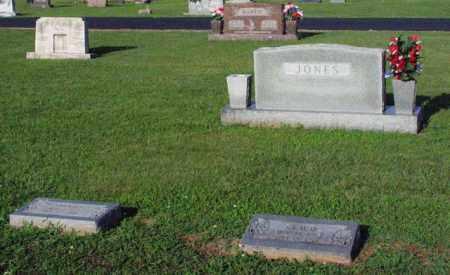 JONES, FAMILY STONE - CLAUD, SARAH, & BILLIE - Washington County, Arkansas | FAMILY STONE - CLAUD, SARAH, & BILLIE JONES - Arkansas Gravestone Photos