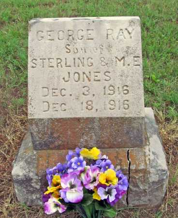 JONES, GEORGE RAY - Washington County, Arkansas   GEORGE RAY JONES - Arkansas Gravestone Photos