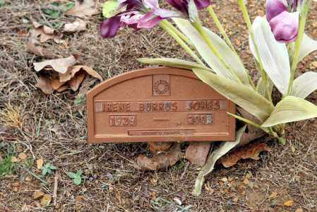 BURRUS JONES, IRENE - Washington County, Arkansas | IRENE BURRUS JONES - Arkansas Gravestone Photos