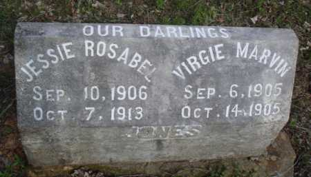 JONES, VIRGIE MARVIN - Washington County, Arkansas | VIRGIE MARVIN JONES - Arkansas Gravestone Photos