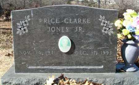 JONES, JR., PRICE CLARK - Washington County, Arkansas   PRICE CLARK JONES, JR. - Arkansas Gravestone Photos