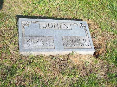 JONES, RALPH D. - Washington County, Arkansas   RALPH D. JONES - Arkansas Gravestone Photos