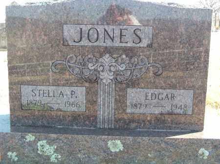 JONES, EDGAR - Washington County, Arkansas | EDGAR JONES - Arkansas Gravestone Photos