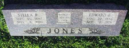 JONES, EDWARD E. - Washington County, Arkansas | EDWARD E. JONES - Arkansas Gravestone Photos