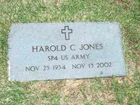 JONES (VETERAN), HAROLD CHESTER - Washington County, Arkansas | HAROLD CHESTER JONES (VETERAN) - Arkansas Gravestone Photos