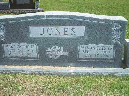 JONES, WYMAN CHESTER - Washington County, Arkansas   WYMAN CHESTER JONES - Arkansas Gravestone Photos