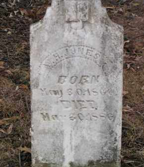 JONES, WILLIAM H. - Washington County, Arkansas | WILLIAM H. JONES - Arkansas Gravestone Photos