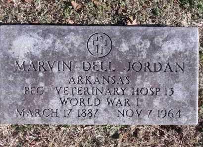 JORDAN (VETERAN WWI), MARVIN DELL - Washington County, Arkansas   MARVIN DELL JORDAN (VETERAN WWI) - Arkansas Gravestone Photos