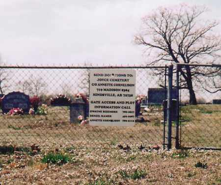 *JOYCE CEMETERY VIEW,  - Washington County, Arkansas |  *JOYCE CEMETERY VIEW - Arkansas Gravestone Photos