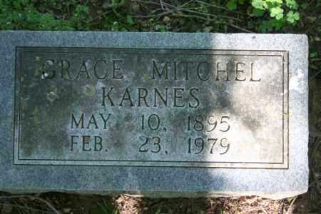 MITCHEL KARNES, GRACE - Washington County, Arkansas | GRACE MITCHEL KARNES - Arkansas Gravestone Photos