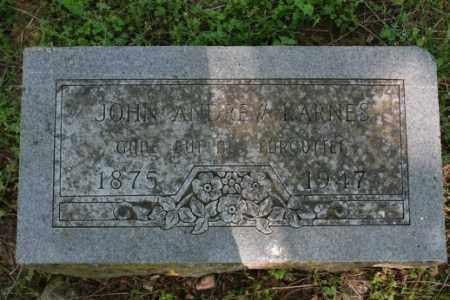 KARNES, JOHN ANDREW - Washington County, Arkansas | JOHN ANDREW KARNES - Arkansas Gravestone Photos