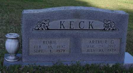 KECK, ARTHUR G. - Washington County, Arkansas | ARTHUR G. KECK - Arkansas Gravestone Photos
