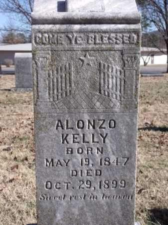 KELLY, ALONZO - Washington County, Arkansas   ALONZO KELLY - Arkansas Gravestone Photos