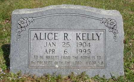 KELLY, ALICE R. - Washington County, Arkansas | ALICE R. KELLY - Arkansas Gravestone Photos