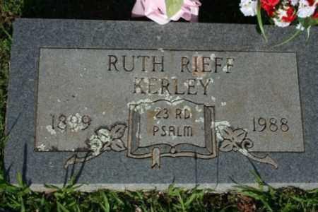 KERLEY, RUTH - Washington County, Arkansas | RUTH KERLEY - Arkansas Gravestone Photos