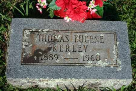 KERLEY, THOMAS EUGENE - Washington County, Arkansas | THOMAS EUGENE KERLEY - Arkansas Gravestone Photos