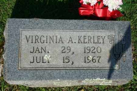 KERLEY, VIRGINIA A. - Washington County, Arkansas | VIRGINIA A. KERLEY - Arkansas Gravestone Photos