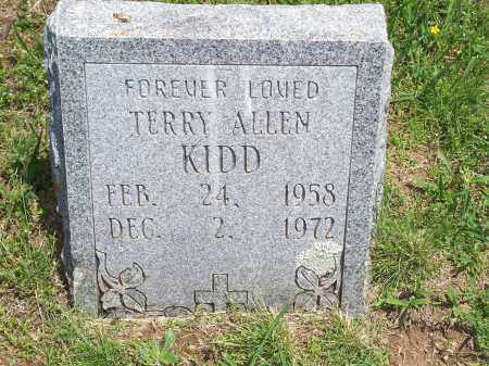 KIDD, TERRY ALLEN - Washington County, Arkansas | TERRY ALLEN KIDD - Arkansas Gravestone Photos