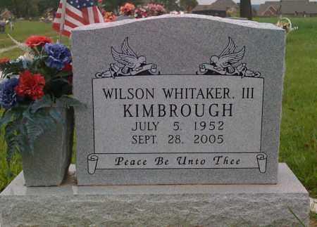 KIMBROUGH III, WILSON WHITAKER - Washington County, Arkansas | WILSON WHITAKER KIMBROUGH III - Arkansas Gravestone Photos
