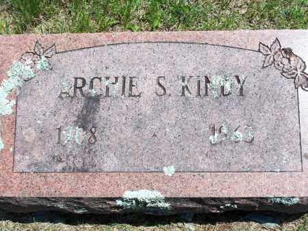 KINDY, ARCHIE S. - Washington County, Arkansas | ARCHIE S. KINDY - Arkansas Gravestone Photos