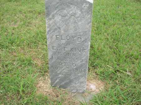 KING, FLOYD - Washington County, Arkansas   FLOYD KING - Arkansas Gravestone Photos