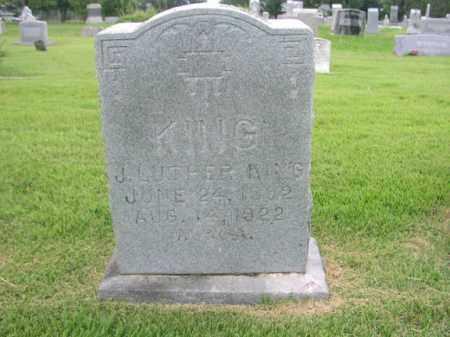 KING, J. LUTHER - Washington County, Arkansas   J. LUTHER KING - Arkansas Gravestone Photos